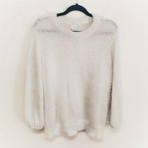 A New Day Fuzzy Knit Sweater